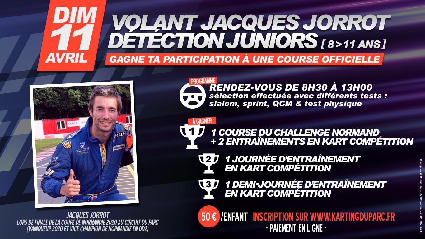 Journée de détection juniors