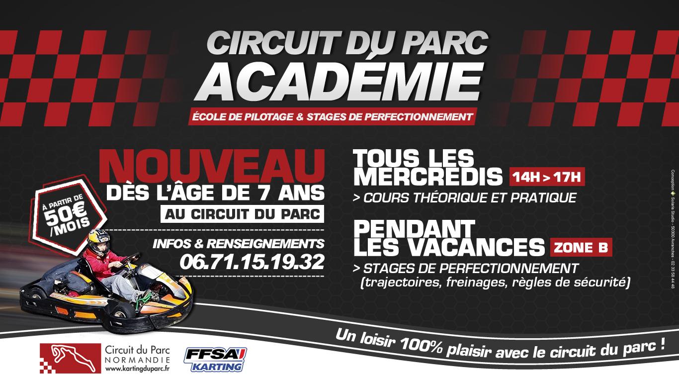 NOUVEAU : Circuit du Parc Académie
